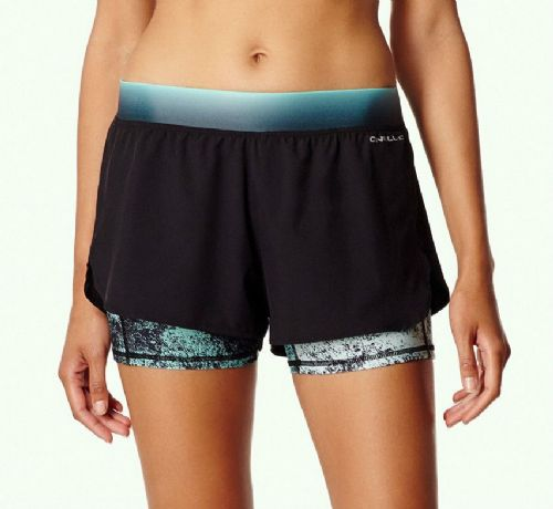 O'NEILL WOMENS SHORTS.ACTIVE DOUBLE SURF UV FITNESS GYM RUNNING SPORTS 7S 22 901